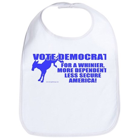 Vote Democrat Bib