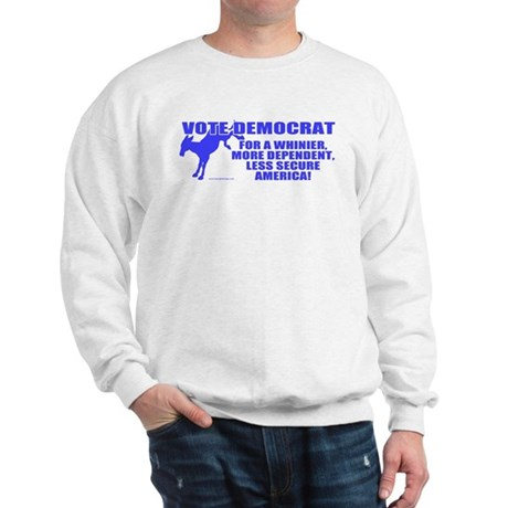 Vote Democrat Sweatshirt