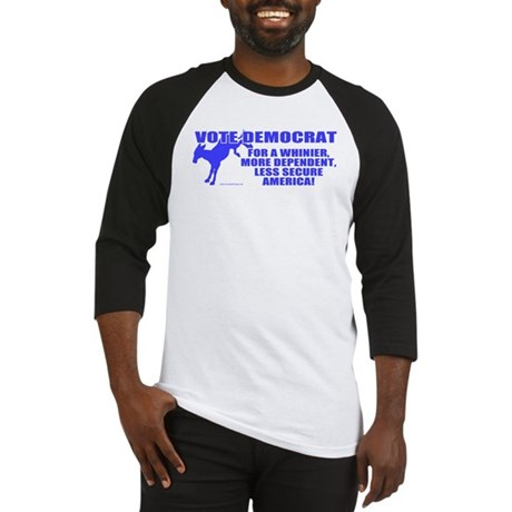 Vote Democrat Baseball Jersey