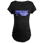 Vote Democrat Maternity Dark T-Shirt