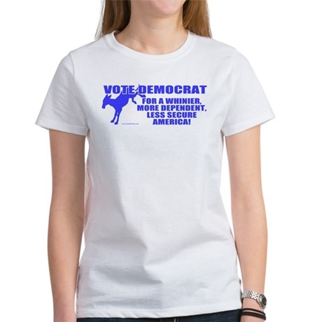 Vote Democrat Women's T-Shirt