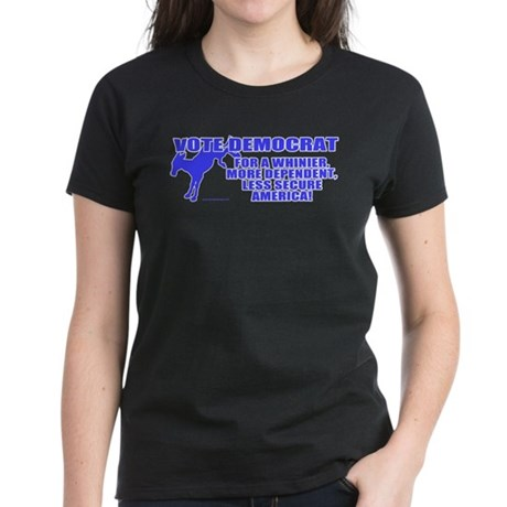 Vote Democrat Women's Dark T-Shirt