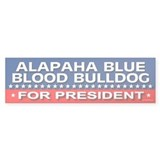 ALAPAHA BLUE BLOOD BULLDOG Bumper Bumper Sticker