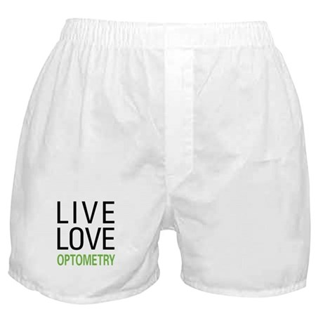 Live Love Optometry Boxer Shorts