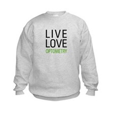 Live Love Optometry Sweatshirt