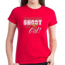Basketball - Shoot Like a Girl Tee
