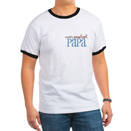 World's Greatest Papa Ringer T