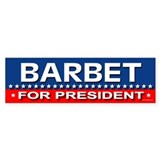 BARBET Bumper Car Sticker