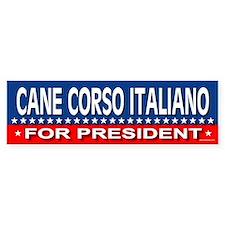 CANE CORSO ITALIANO Bumper Bumper Sticker