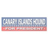 CANARY ISLANDS HOUND Bumper Bumper Sticker