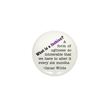 Wilde About Fashion Mini Button (100 pack)