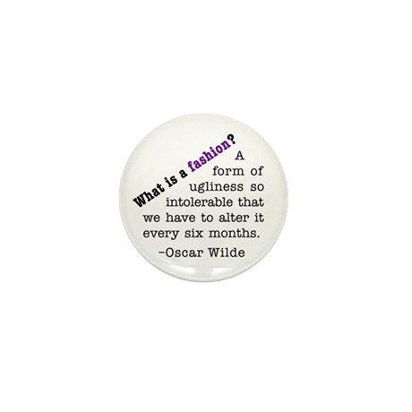 Wilde About Fashion Mini Button