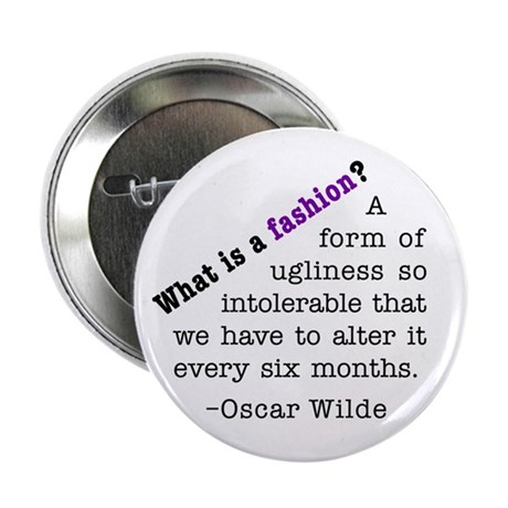 "Wilde About Fashion 2.25"" Button (100 pack)"
