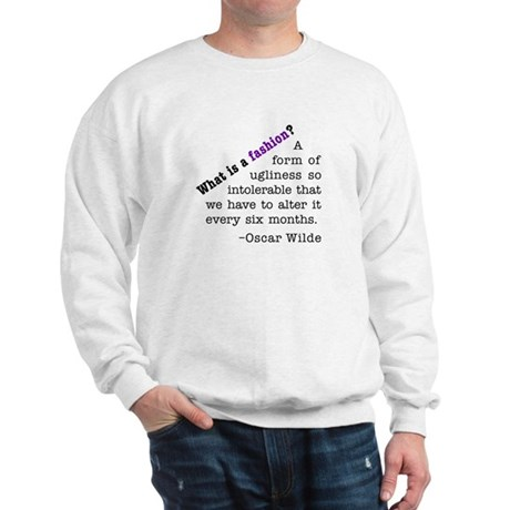 Wilde About Fashion Sweatshirt