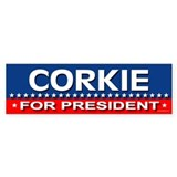 CORKIE Bumper Car Sticker