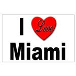 I Love Miami Large Poster