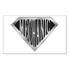 SuperMechanic(metal) Rectangle Decal