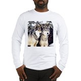 Wolf T Shirts Long Sleeve T-Shirt