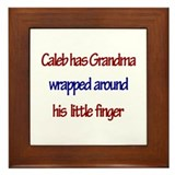 Caleb - Grandma Wrapped Aroun Framed Tile