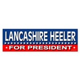 LANCASHIRE HEELER Bumper Car Sticker