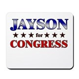 JAYSON for congress Mousepad