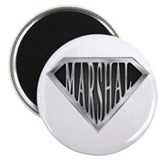 "SuperMarshal(metal) 2.25"" Magnet (10 pack)"