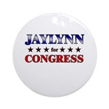 JAYLYNN for congress Ornament (Round)
