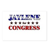 JAYLENE for congress Postcards (Package of 8)