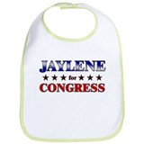 JAYLENE for congress Bib