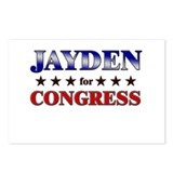 JAYDEN for congress Postcards (Package of 8)