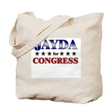 JAYDA for congress Tote Bag