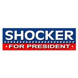 SHOCKER Bumper Bumper Sticker