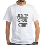 Beauty School Star White T-Shirt