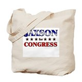 JAXSON for congress Tote Bag