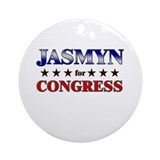 JASMYN for congress Ornament (Round)