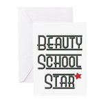 Beauty School Star Greeting Cards (Pk of 10)