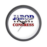 JAROD for congress Wall Clock