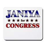 JANIYA for congress Mousepad