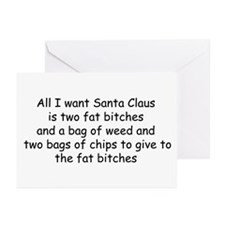 All I want Santa... Greeting Cards (Pk of 20)
