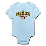 Mexico Futbol/Soccer Infant Bodysuit