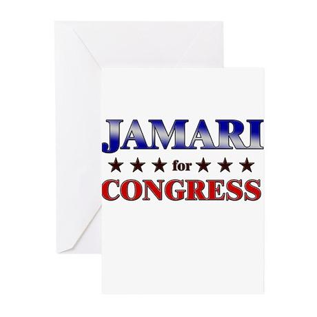 JAMARI for congress Greeting Cards (Pk of 10)