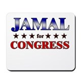 JAMAL for congress Mousepad