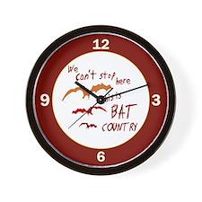 Bat Country Wall Clock