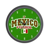 Mexico Futbol/Soccer Wall Clock