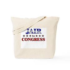 JAIR for congress Tote Bag