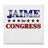 JAIME for congress Tile Coaster
