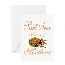 St. Anne - Patron of Mothers Greeting Card