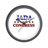 JADA for congress Wall Clock