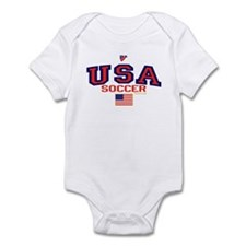 USA American Soccer Infant Bodysuit