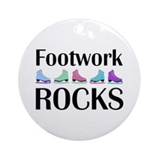 Footwork Rocks Multi Ornament (Round)
